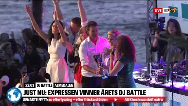 Expressen vinner DJ-battlet i Almedalen