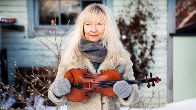 Lena Willemark får Expressens musikpris Spelmannen 2017. Foto: FOTOGRAF ELLINOR COLLIN