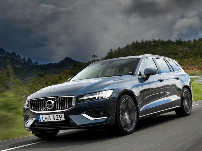 Det är även Volvo S60/V60.