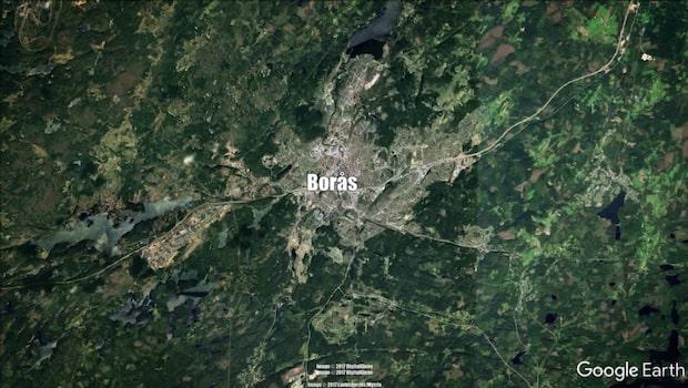 Man skadad av stickvapen i Borås