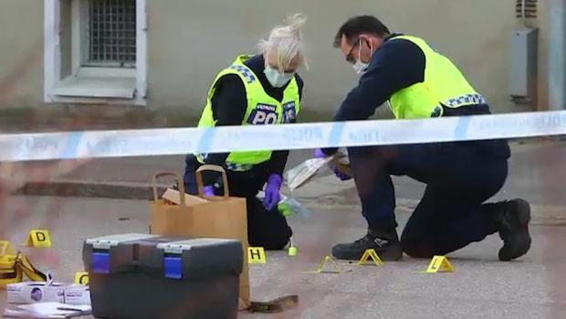 Man avlossade 14 skott i bostadsområde