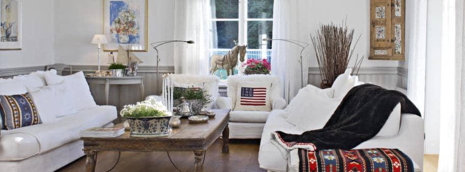 Ett gammalt pensionat blev ett rustikt hem Leva& bo