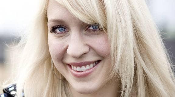 Emilia de Poret har jämförts med Paris Hilton. Nu jobbar hon i Max Martins studio med sin andra skiva. Foto: Gunilla Sikström