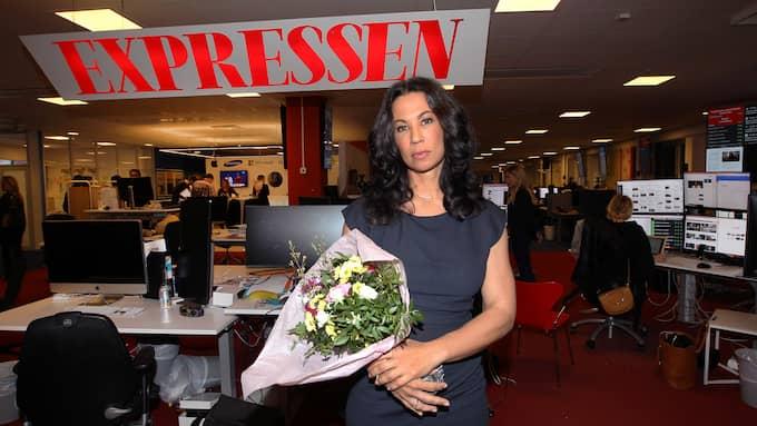 Magda Gad fick 2017 Stora Journalistpriset och Per Wendels pris. Foto: CORNELIA NORDSTRÖM