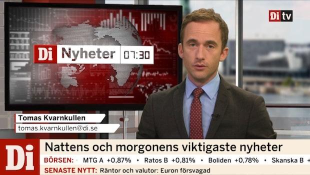 Di Nyheter 7.30 30 maj 2017