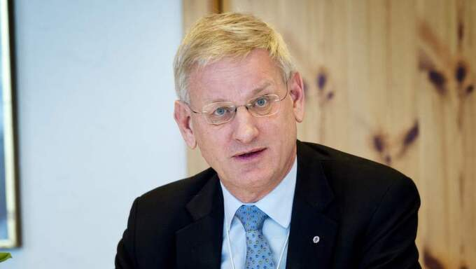 ...som utrikesminister Carl Bildt ska ha fått rapporten. Foto: Jens L'Estrade