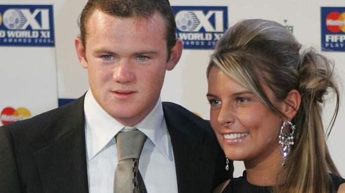 Wayne Rooney och Coleen Rooney Foto: Kirsty Wigglesworth