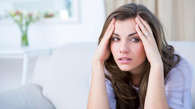 kraftig huvudvärk vid ansträngning