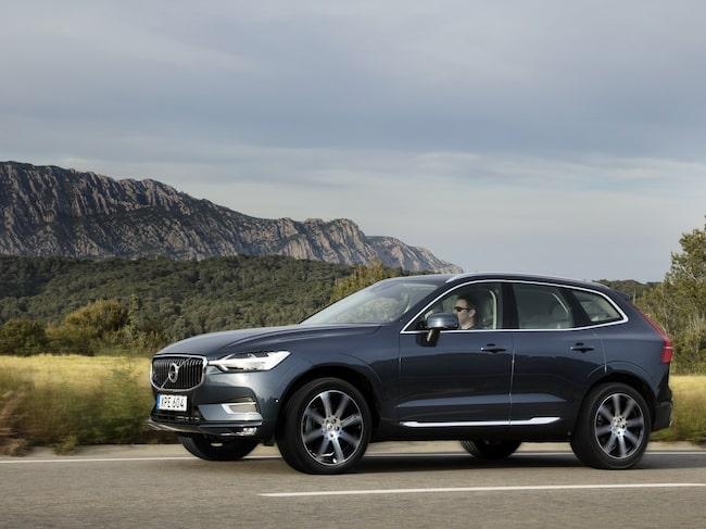 Volvo XC60 utses till årets säkraste bil.