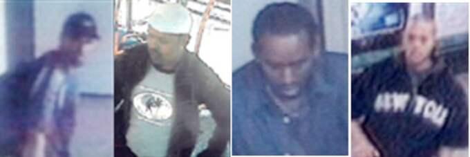 Polisens bilder på de misstänkta terroristerna. En av dem är nu gripen.