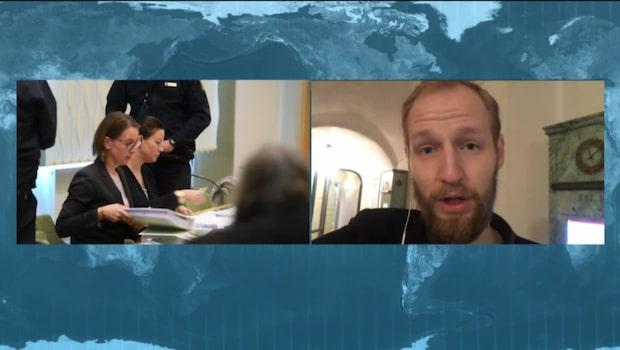Hovrättsförhandlingar mot Johanna Möller pågår