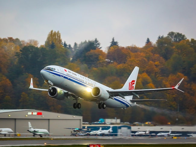 Flygplansmodellen Boeing 737 Max har haft flygförbud i fem månader.
