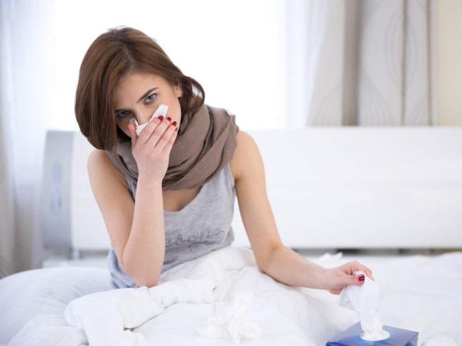 Så många som en av 30 drabbas av semestersjuka.