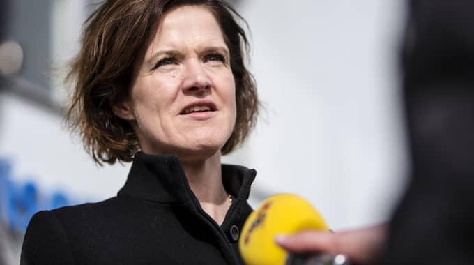 Anna Kinberg Batra vill bland annat införa krav på samhällsorientering. Foto: Henrik Jansson / HENRIK JANSSON GT/EXPRESSEN
