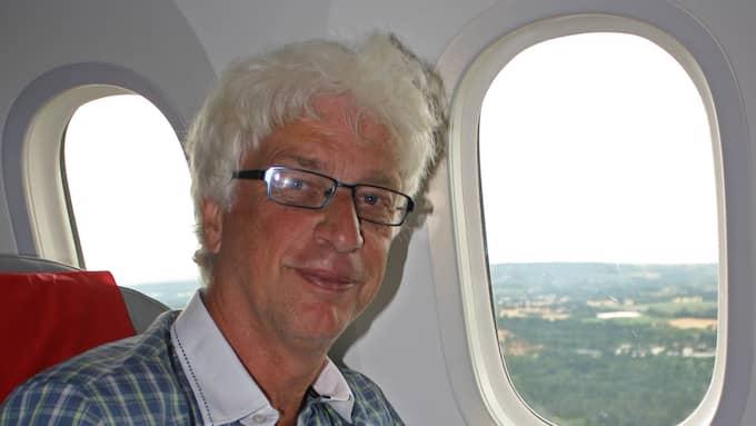 """""""Man behöver inte vara orolig för att flyga med SAS just nu"""", säger flygexperten Jan Ohlsson. Foto: Privat"""