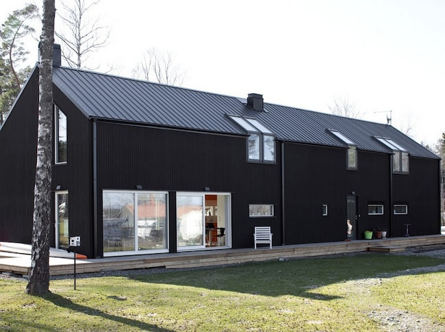 Svart Lada I Skon Natur on Small Solar Houses Floor Plans