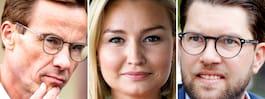 Åkessons dröm: Styra Sverige med M och KD