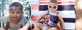 Är lilla Harper världens mest beresta bebis?
