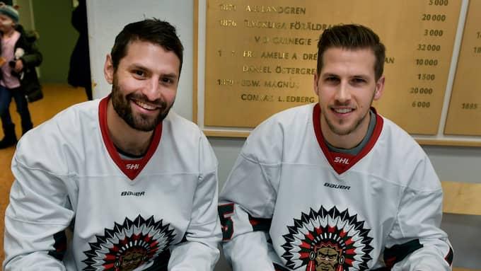 Mike Weber och Matt Donovan. Foto: /IBL / /IBL