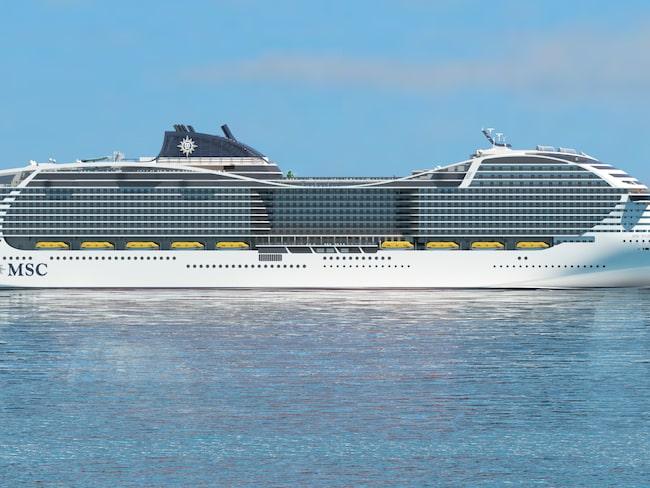 Världens största kryssningsfartyg ska stå klart 2022.