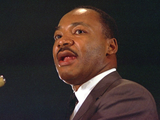 Martin Luther King uppges vara en INFJ:are.
