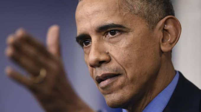 I juli slöt flera länder ett avtal med Irans kärntekniska program, men redan då varande USA:s president Barack Obama att det kunde bli sanktioner. Foto: Susan Walsh