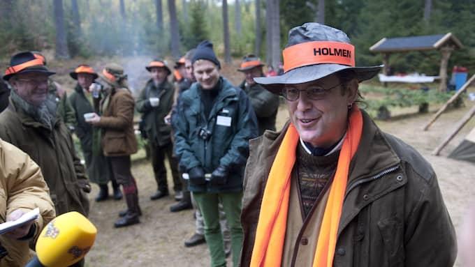 Den tidigare finansministern Anders Borg deltog flera gånger i Holmens exklusiva jakttillställningar. Foto: / TT NYHETSBYRÅN