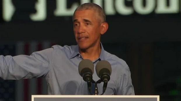 """Obamas oro inför valet: """"Folk blev lata"""""""