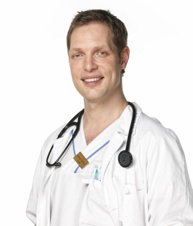 Andreas Eenfeldt, läkare och specialist i allmänmedicin.