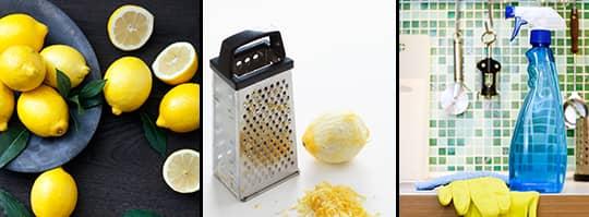 städa med citron