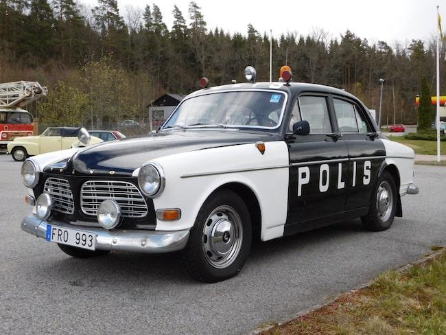 Volvo 121 4dr Amazon B18 från 1966, känd från Astrid Lindgren-filmer.