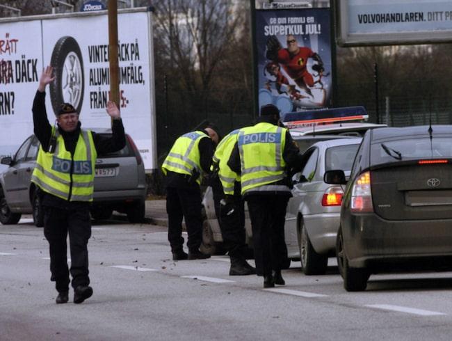 Enligt en dom i Blekinge tingsrätt måste åklagaren kunna bevisa att utländska förare faktiskt saknar körkort – även om körkortet är borttappat. Bilden är tagen i ett annat sammanhang.