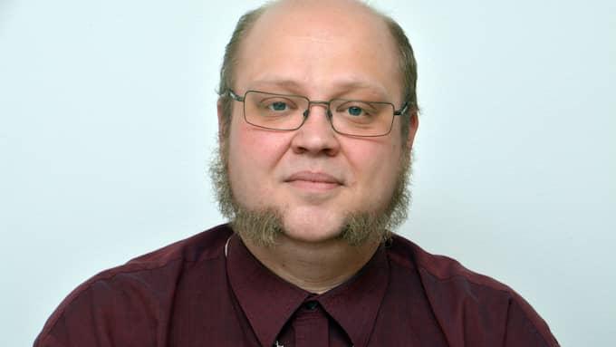 Daniel Carlenfors, ordförande Alla ska kunna bo kvar. Foto: BIRGER ERNFJORD