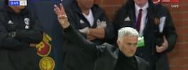 Hånad av fansen – då  bjöd Mourinho på gest