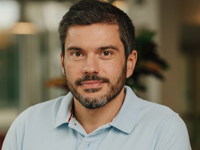 Folksams forskare Matteo Rizzi.
