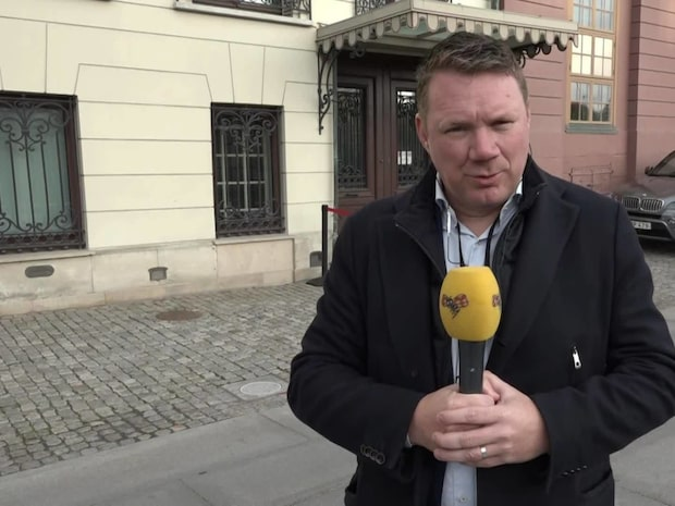 Stefan Löfven och Ulf Kristersson i möte