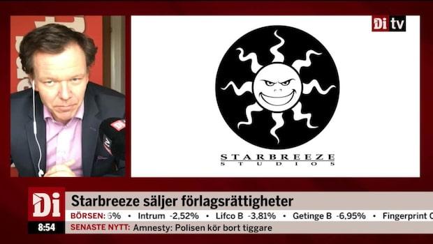Starbreeze säljer förlagsrättigheter