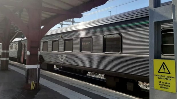 Resenärer fast i timmar efter tågstopp i Ånge