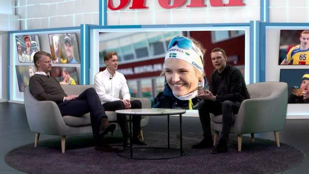 """Linn Svahn vinner Årets damåkare: """"Det här vill jag fira"""""""