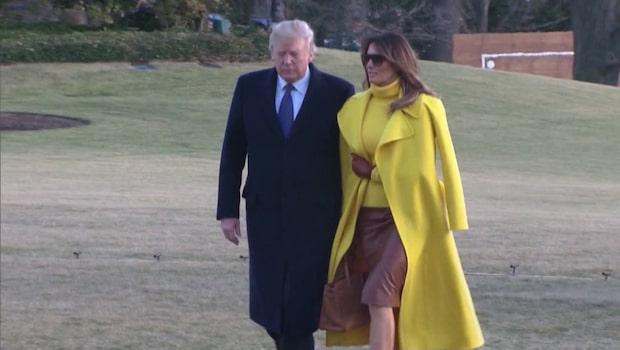 Melania Trumps plan fick nödlända