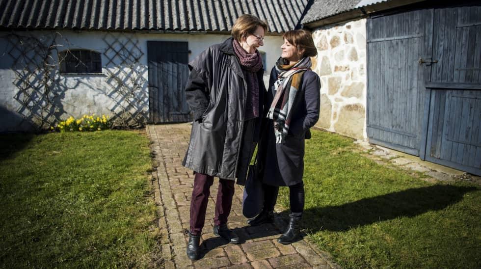 Expressens Malin Roos mötte Gudrun Schyman i Gladsax. Foto: Christian Örnberg