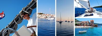 SKEPP O'HOJ. Vår skeppare Christian Toft Ramsboel ger oss en härlig vecka i Adriatiska havets sköna skärgård.