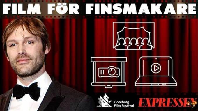 """Topplistan """"Film för finsmakare"""" är ett samarbete mellan Göteborg Film Festival och Expressens kultursida."""