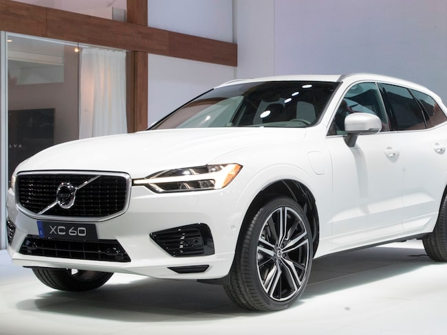Volvo XC60 blev den mest sålda Volvo-modellen under 2016.