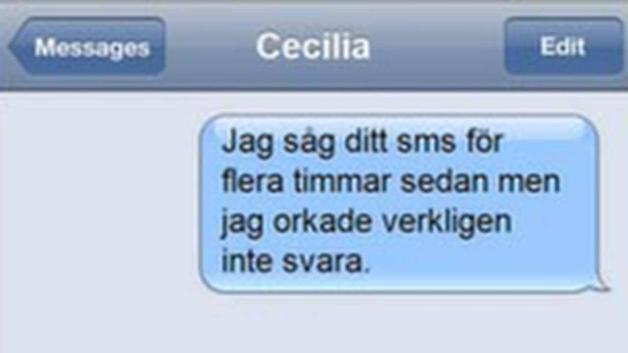 Dating textmeddelanden rolig
