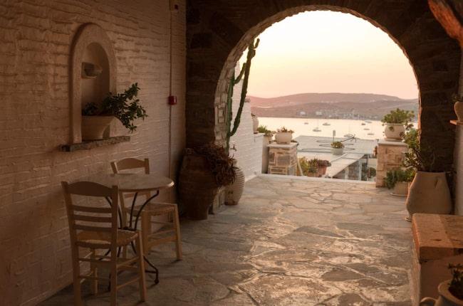 <span>Sköna och lugna vyer är lätt att hitta på trivsamma Paros.</span>