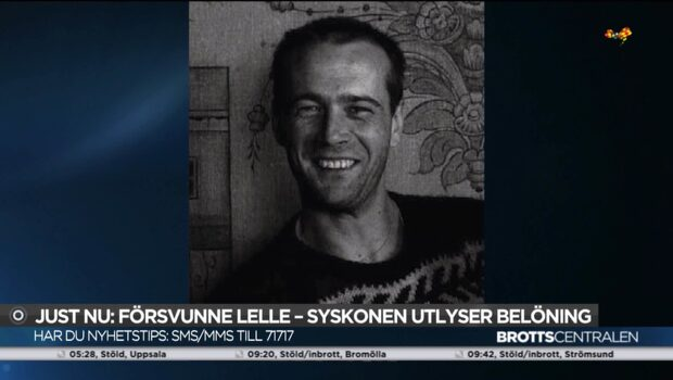Syskonen utlyser belöning för tips om försvunne Lelle