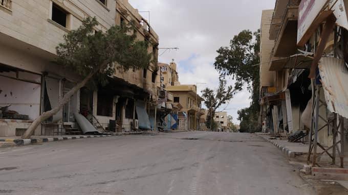 Genrebild från Palmyra i Syrien. Foto: KASSEM HAMADE