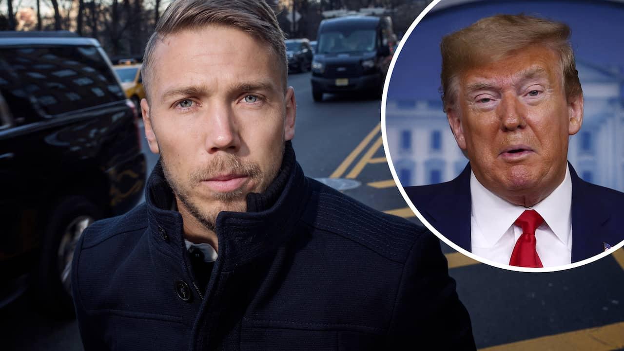 Svenske stjärnan tvingas svara efter Trumps utspel