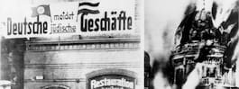 Det hände under Kristallnatten då Förintelsen inleddes